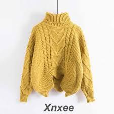 <b>Sweaters</b> Women's Autumn Winter Thickened <b>Knits</b> Korean Style ...