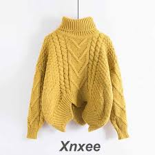 <b>Sweaters Women's</b> Autumn Winter Thickened Knits Korean Style ...