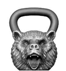 Купить <b>гирю Медведь</b> 16 кг с доставкой по СПБ / <b>Iron Head</b>