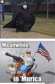 Grim Reaper Level:'murica by edgar1998 - Meme Center via Relatably.com