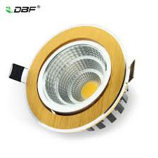 [DBF]Luxury Gold Downlight <b>7W</b>/<b>9W</b>/<b>12W</b>/<b>15W</b>/18W/20W Recessed ...