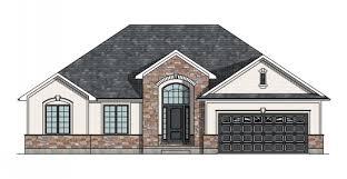 canadian home designs custom house plans stock house plans    the niagara house plan
