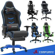 Luxury <b>Executive</b> Home <b>Racing</b> Gaming <b>Office</b> Chair Lift Swivel ...