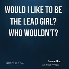 Bonnie Hunt Quotes | QuoteHD