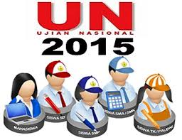 Image result for ujian nasional 2015