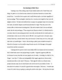 argumentative essay about why smoking should be banned   gcse    argumentative essay about why smoking should be banned