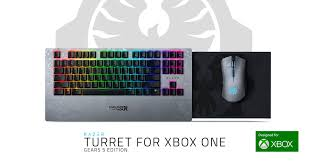 Wireless Keyboard and Mouse - Razer Turret for <b>Xbox One Gears 5</b> ...