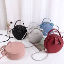 New Women Round Crossbody Bags Personality Concise ... - Vova
