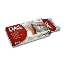 Паста для моделирования белая терракотовая <b>DAS</b> FILA купить ...