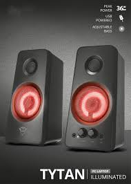 <b>Trust</b> Gaming <b>GXT 658 Tytan</b> 5.1 Surround Sound Speaker System ...
