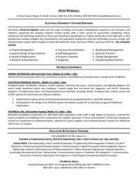 sample resume for experienced electrical engineer electrical       electrical engineering resume sample