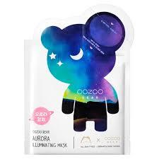 The Oozoo Мишка УЗУ Северное сияние <b>Двухфазная маска для</b> ...