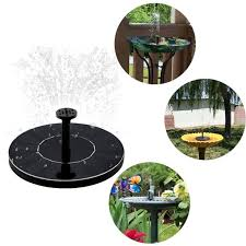 <b>Small Solar Powered</b> Water Fountain