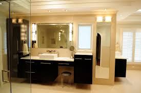 image credit vv contracting inc bathroom lighting ideas dress mirror