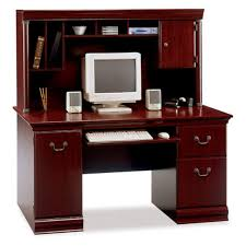 bush birmingham computer desk hutch product photo bush desk hutch office
