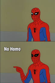 Spidey No Homo | 60's Spider-Man | Know Your Meme via Relatably.com