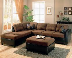 drawing room furniture ideas brown living room furniture ideas with tufted sectional sofa and square ottoman awesome contemporary living room furniture sets