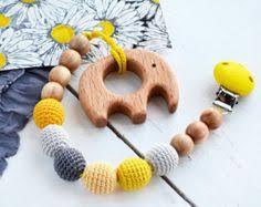 <b>Wooden Baby</b> Silicone Bead <b>Bracelets</b> | Teething beads, <b>Wood</b> toys ...