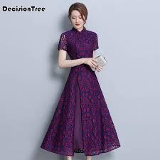 <b>2019 asian clothing ao dai</b> vietnam traditional qipao women chinese ...
