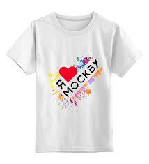 """Детская <b>футболка</b> классическая унисекс """"<b>Я люблю Москву</b> ..."""