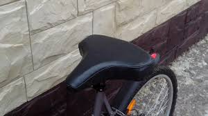 Широкое <b>седло для велосипеда</b>. Comfortable seat for bike ...