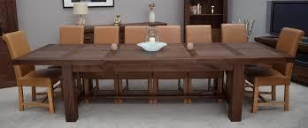Dining Room Table Walnut Ventura Dining Table Customizable Leaves Dining Room Table