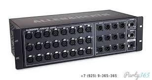 <b>Модуль расширения</b> stage-box <b>allen &</b> heath ar2412 аренда и ...