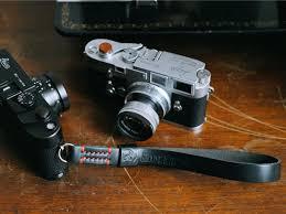 <b>leather camera</b> strap | <b>leather wrist</b> strap - TAP & DYE