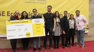 icge competition offers solutions to s budget deficit caravan the winning team is afforded the chance to job shadowing at various companies in courtesy of icge