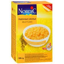 Каши быстрого приготовления <b>Nordic Нордик</b> Пшенные <b>хлопья</b> ...