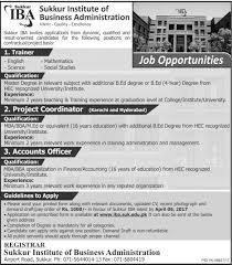 jobs in sukkur iba sukkur institute of business administration 21 sukkur institute of business administration jobs