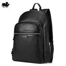 <b>Bison Denim</b> Black Leather Backpacks, Bags & Briefcases for <b>Men</b> ...