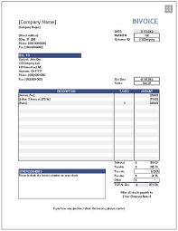 Invoice template, Templates free and Templates on Pinterest downloadable invoice template free | http://www.vertex42.com/ExcelTemplates