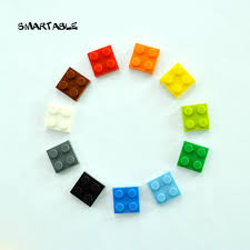 <b>Smartable Plate</b> 2X2 Building Blocks Parts DIY LOGO Educational ...