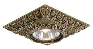 Встраиваемый <b>светильник Reccagni Angelo Spot</b> 1083 bronzo ...