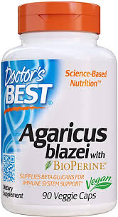 Doctor's Best Agaricus Blazei, Non-GMO, Vegan ... - Amazon.com