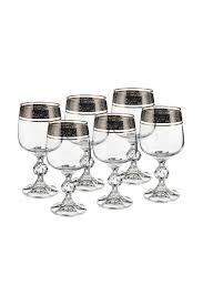 Бокал для вина, 6 шт <b>BOHEMIA CRYSTAL</b> арт БКС0171 ...