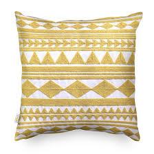 <b>Подушка декоративная Ethnic</b> желтый купить за 290 руб. в ...