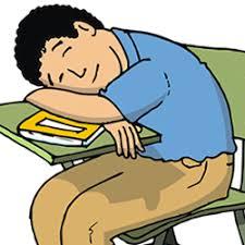 Resultado de imagen para alumnos duermen en clase contenidos