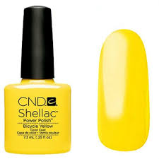 <b>CND Shellac</b> Bicycle Yellow (Paradise <b>Summer</b> Collection 2014 ...