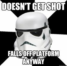 Funny Star Wars — lordwanjavi: Stormtrooper Memes via Relatably.com