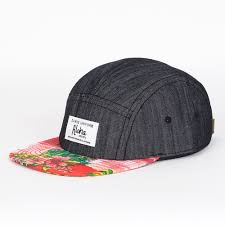 <b>Бейсболка DJINNS Denim Aloha</b> 5 Panel Flat Cap Fv, приобрести ...