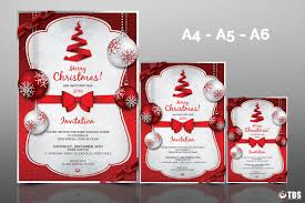 xmas bundle christmas menus invitations tds psd flyer christmas invitation template psd v 4