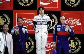 Resultado de imagem para Nelson Piquet bicampeao mundial da formula 1