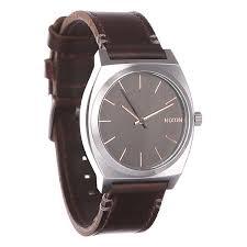 Купить <b>часы Nixon Time Teller</b> Gray/Rose Gold/Brown в интернет ...