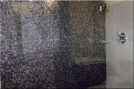 tiled wall bathroom