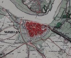 Image result for nijmegen op de kaart van nederland