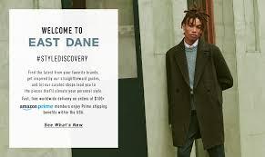 Shop <b>Designer Men's Fashion</b> at East Dane