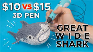 Testing the Cheapest 3D Pens // Great Wide Shark - YouTube