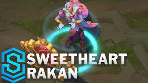 <b>Sweetheart Rakan</b> Skin Spotlight - League of Legends
